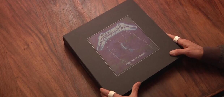 "Lars Ulrich pokazał reedycję ""Ride The Lightning"""