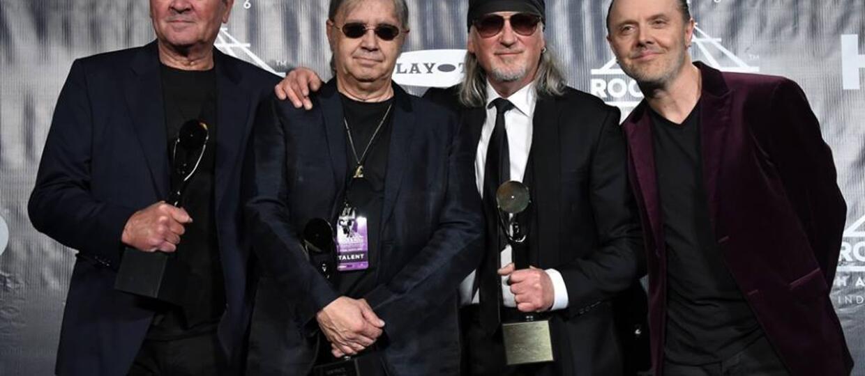 Lars Ulrich wprowadził Deep Purple do Rock And Roll Hall Of Fame