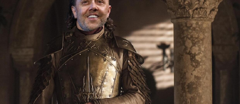 Lars Ulrich został duńskim rycerzem