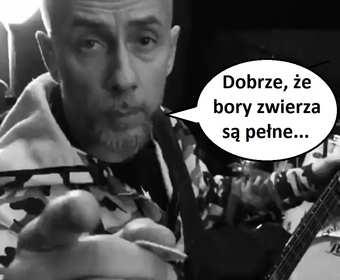 """""""Lasy Pomorza"""" z próby Behemotha w składzie z albumu """"Grom"""""""