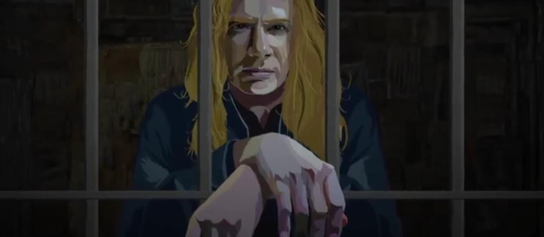 """Megadeth z """"realnym zagrożeniem"""" w animowanym klipie"""