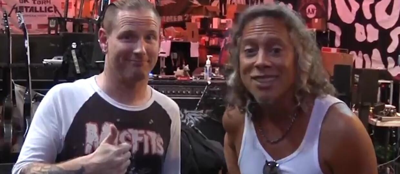 Metallica odpowiada na pytania Coreya Taylora