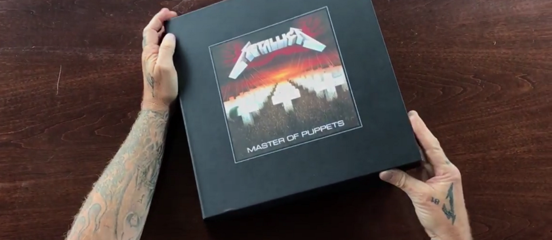 """Metallica pokazała reedycję """"Master Of Puppets"""""""