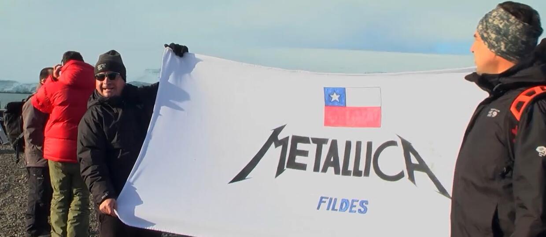 Metallica udostępniła dokument z koncertu na Antarktydzie