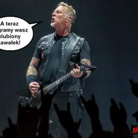 Metallica układa setlisty koncertów na podstawie statystyk ze Spotify
