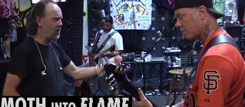 "Metallica w materiale z nagrywania ""Moth Into Flame"""