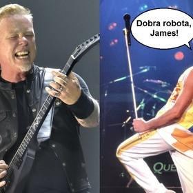 "Metallica zagrała ""Stone Cold Crazy"" Queen w Manchesterze"