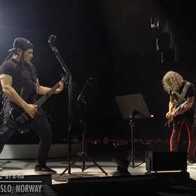 Metallica na koncercie w Norwegii