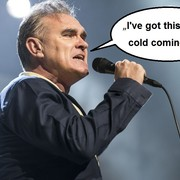 Morrissey odwołał koncert, bo było mu za zimno