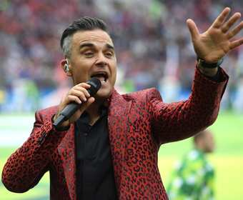 Robbie Williams na mundialu