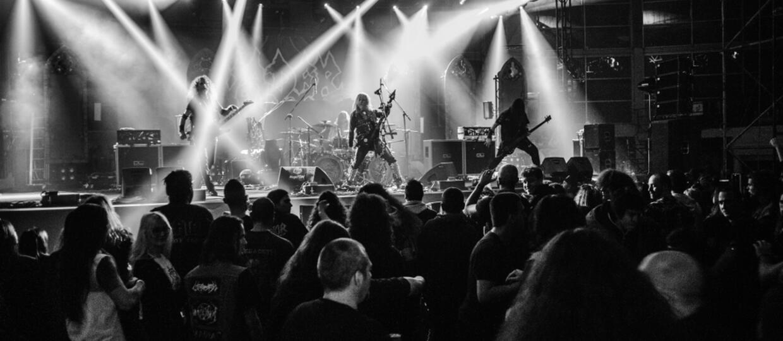 Deathmetalowy koncert