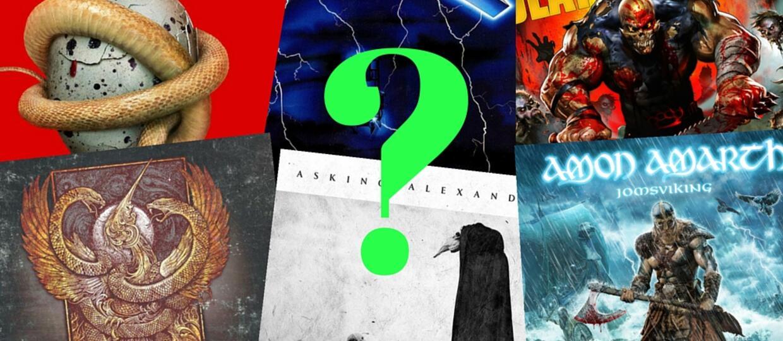 Najpopularniejsze rockowe i metalowe płyty w 2016