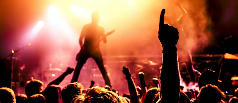 Koncert muzyki metalowej