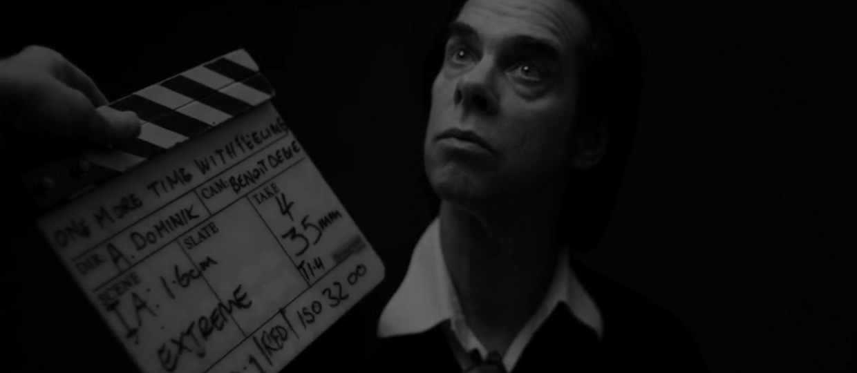 "Nick Cave w trailerze filmu ""One More Time With Feeling"""