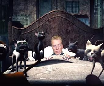 Nocne koszmary Josha Homme'a w animowanym teledysku Queens Of The Stone Age
