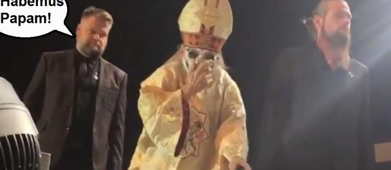 Nowy Papa Emeritus objął władzę w zespole Ghost