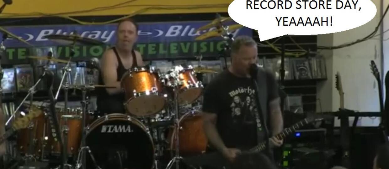 Obejrzyj pełny koncert Metalliki z Record Store Day 2016