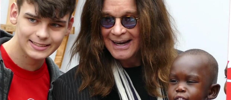 Ozzy Osbourne odwiedził szpital dziecięcy w Birmingham