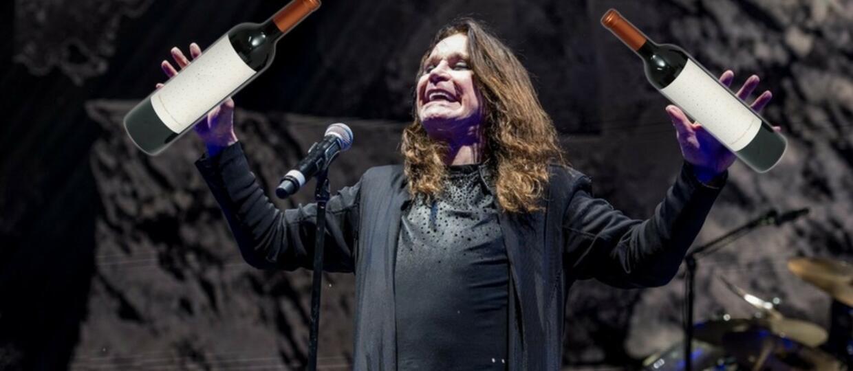 Ozzy Osbourne sprzedaje wino ze swoim autografem