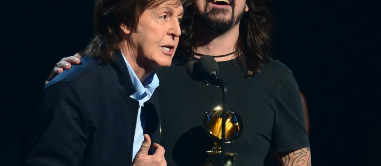 Paul McCartney jako perkusista na nowej płycie Foo Fighters