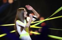 Roksana Węgiel podczas 16. Eurowizji dla dzieci