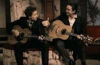 Johnny Cash i Bob Dylan