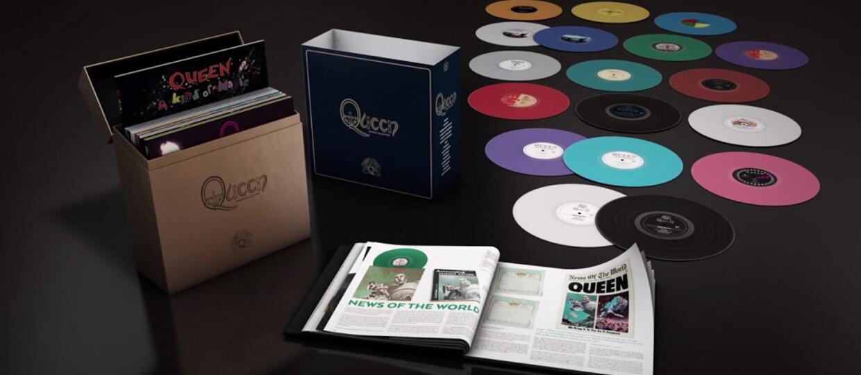 Queen wyda box z 18 kolorowymi winylami