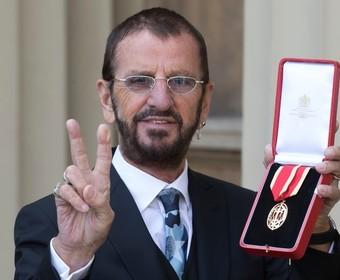 Ringo Starr z tytułem szlacheckim