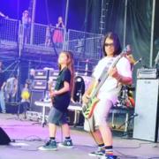 Robert Trujillo wystąpił z synem na jednej scenie