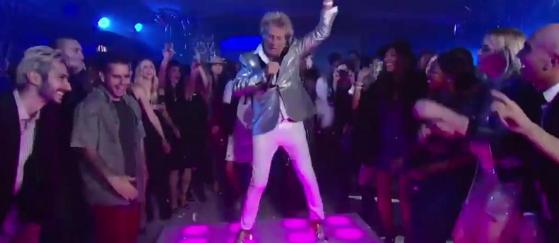 Rod Stewart skradł wszystkim show na gali MTV