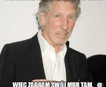 """Roger Waters wykona """"The Wall"""" na granicy USA z Meksykiem?"""