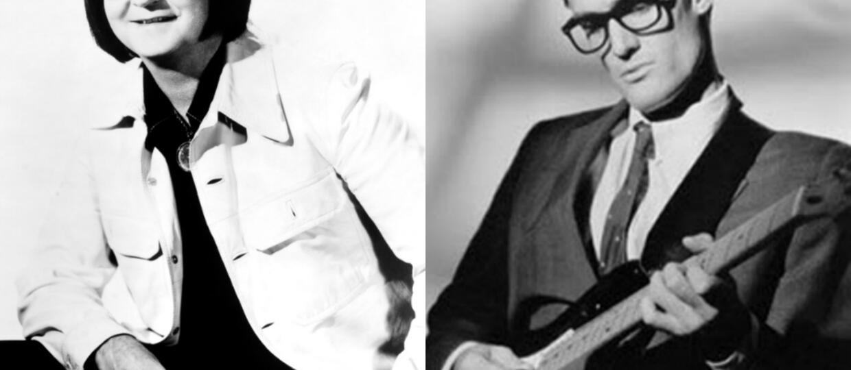 Roy Orbison i Buddy Holly