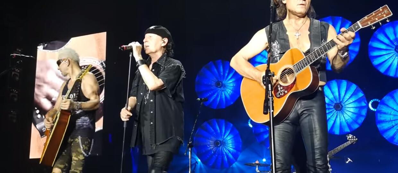 Scorpions na koncercie w Łodzi zadedykował utwór Korze