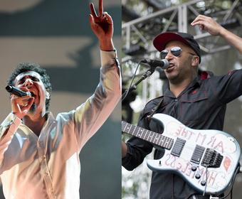 """Serj Tankian wykonał z muzykami Audioslave """"Like A Stone"""""""