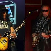 """Slash i Ace Frehley w utworze """"Emerald"""" Thin Lizzy"""