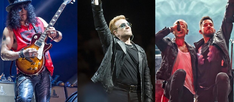 Slash, U2, Linkin Park podpisali petycję przeciwko YouTube'owi