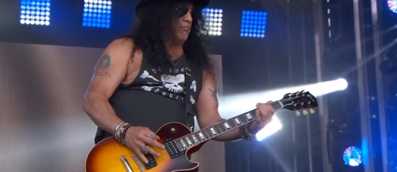 Slash zagrał nowe piosenki w programie Jimmy Kimmel Live!