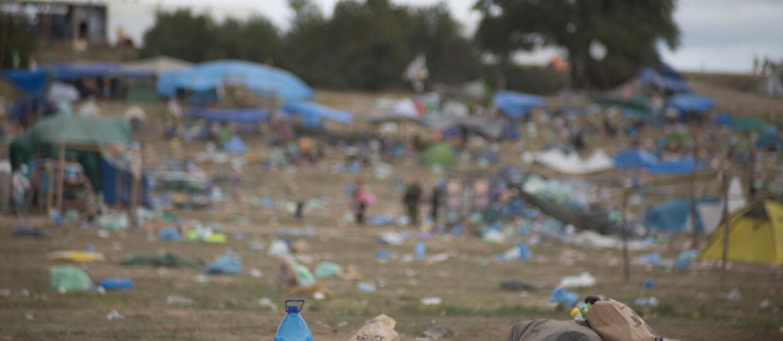 pole namiotowe na Pol'and'Rock Festival