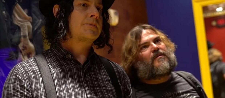 Tenacious D zaprezentował owoc współpracy Jacka Blacka i Jacka White'a