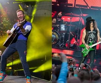 Trasy Coldplay i Guns N' Roses w top 10 najbardziej zyskownych tras koncertowych w historii