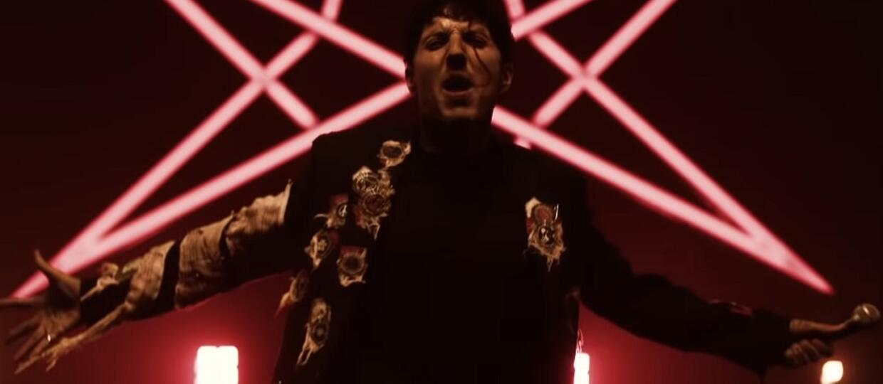 """Foto: kadr z wideo """"Bring Me The Horizon - Ludens (Official Video)"""""""