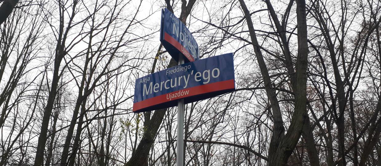 Aleja Freddiego Mercury'ego w Warszawie