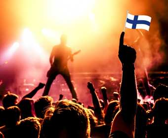Koncert metalowej grupy
