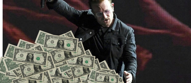Wykonawcy, których trasy koncertowe zarobiły najwięcej w 2017