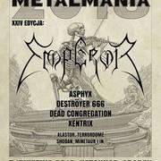 Zbigniew M. Bielak zaprojektował plakat na festiwal Metalmania 2018