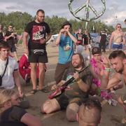 Zenek z Kabanosa pokazał teledysk nagrany na Przystanku Woodstock