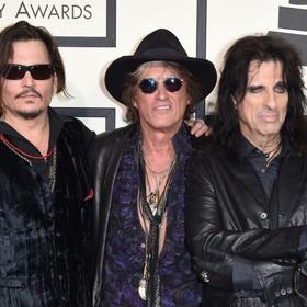 Zespół Johnny'ego Deppa, Alice Coopera i Joe Perry'ego zagra w Polsce