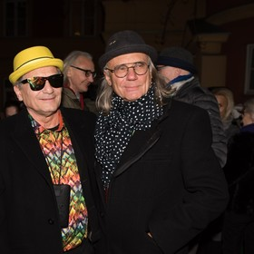 Ryszard Olesiński i Kamil Sipowicz