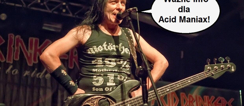 Zmiana w składzie Acid Drinkers