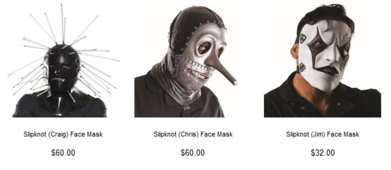 Zostań muzykiem Slipknota na Halloween